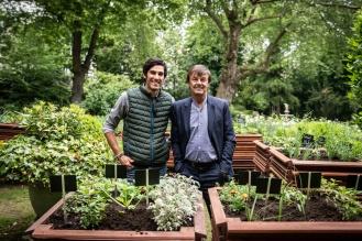Florian GILBERT NICOLAS HULOT Potager Ministère de la transition écologique et solidaire
